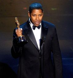 Denzel Washington Oscar Winner....