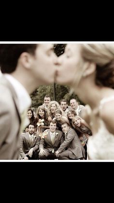 Cute pic idea for the wedding party