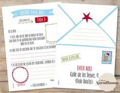 El Blog de Sarai Llamas: Carta a Papá Noel para descargar