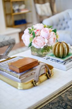 Cool Chic Style Fashion: Decor Inspiration | At Home with: Pink Peonies