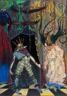 Storia dell'Illustrazione: Harry Clarke - Roba da Disegnatori