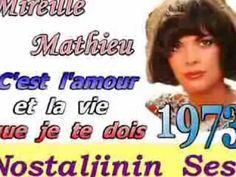 Mireille Mathieu - C'est l'amour et la vie que je te dois (Türkçe altyaz...