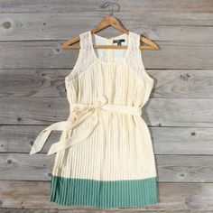 Elegant Spring Dress.
