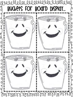 216 best Bucket Fillers images on Pinterest | Bucket fillers ...