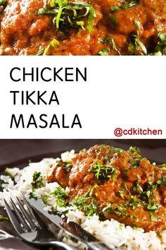 Made with boneless chicken thighs, onion, garlic, fresh ginger, green ...
