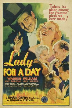 "Movie Poster of the Week: ""Lady for a Day"" and the Posters of 1933 on Notebook 