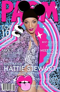 PAOM x Hattie Stewart, shot by Michael Burk, with illustrations by Hattie Stewart. Gcse Questions, Iris Van Herpen, Magazine Illustration, Vintage Magazines, Vintage Glamour, Clothes Horse, Art Director, Baby Love, Meet You
