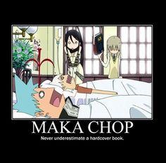 Soul eater Maka Chop