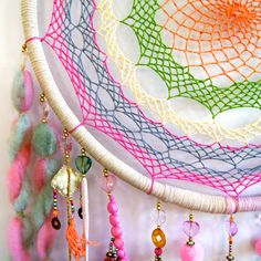 Colourful Dreamcatcher by GoldenDreamers