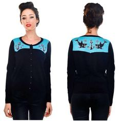 Shark Cardi @ Bella Lus Skull Fashion, Beautiful Disaster, Shark, Pin Up, Graphic Sweatshirt, Sweatshirts, Sweaters, Clothes, Collection