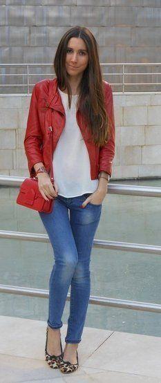 Jaqueta vermelha I.