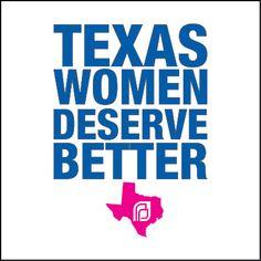 Texas women deserve better