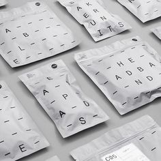 Envelop screen print #typography #branding #packaging