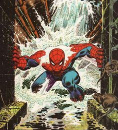 Spidey in the sewers