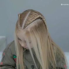 Lace Braids Tutorial is part of Hair styles - Box Braids Hairstyles, Girl Hairstyles, School Hairstyles, Updo Hairstyle, Wedding Hairstyles, Braid Styles, Short Hair Styles, Braids For Long Hair, Braids Wig