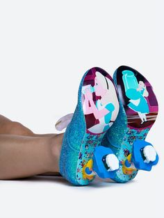 - Grab your mismatching teacups and saucers with these glittery booties and get…