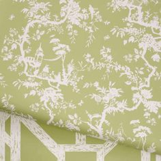 WH 290 Petite Pillement and Trellis by Waterhouse Fabrics and Wallcoverings