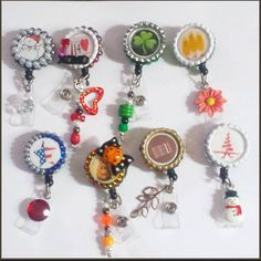 Check out this item in my Etsy shop https://www.etsy.com/listing/184360771/seasonal-badge-reel-set-8pc