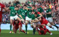 Ireland vs Wales Irish Rugby Team, Wales, Victorious, Ireland, Soccer, Sports, Hs Sports, Futbol, Welsh Country