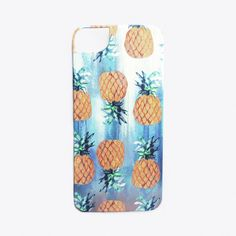 Pineapple Beach Phone Cover ($45) ❤ liked on Polyvore featuring accessories, tech accessories, phone, phone cases, iphone case, cover, iphone cases, iphone cover case and apple iphone cases