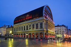 Opéra de Lyon ,Jean Nouvel FRANCE