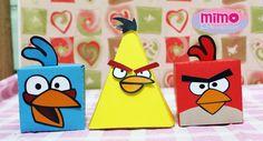 Caixinha Angry Birds, feito em papel 180g, qualidade fotográfica e corte digital.      Valor referente a unidade.  Pedido mínimo: 10 caixinhas.    Arte será enviada ao cliente assim que confirmado o pagamento, pedido só será feito após a aprovação da arte. Prazo para entrega é 15 dias após aprova...