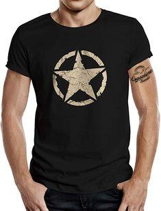 TOP!!  Bekleidung, Herren, Tops, T-Shirts & Hemden, T-Shirts Us Army, Classic T Shirts, Mens Tops, Vintage, Fashion, Button Up Shirts, Summer, Clothing, Moda