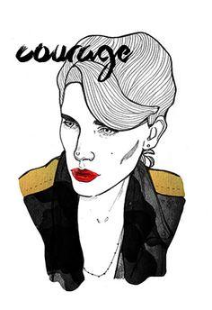 Modeconnect.com - Fashion Illustration by Magdalena Pankiewicz