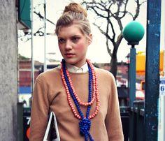 Amazing Silk Rope Necklaces.