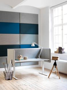 Kelly Martin Interiors - Blog - Sound & Vision ***** interior design, decor, acoustic, wall, panel, sound, treatment, contemporary, modern, felt, wool, music, producer, recording, studio, Form Us With Love, Knoll, De Vorm, Gingko, Homes and Hues, Sancal, Blastation