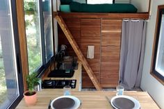 Tiny house rental or to buy in southwest France. Tiny Houses For Rent, Best Tiny House, Tiny House On Wheels, Tiny House Rentals, Tiny House Living, Tiny House Design, House Interiors, Building, France