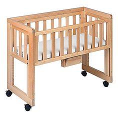Beistellbett zwillinge  FabiMax Beistellbett Babymax basic natur, inkl. Matratze PROTECT ...