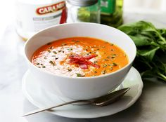 Piquillo Peppers Tomato Soup #CaraMia