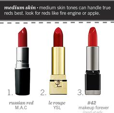 The Perfect Red Lip - How to Find Red Lipstick for Your Skin Tone | Brunch at Saks