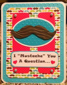 Valentine's Postcard Using Cricut Summer Celebrations Cartridge