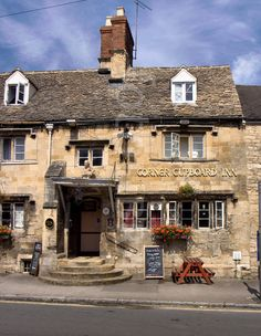 English country pub, Winchcombe. We stayed near this town one summer, may have eaten at this pub.