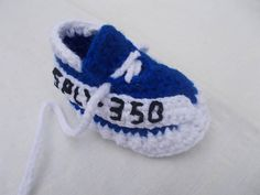 Crochet Baby Shoes The Yeezy Boost 350 V2 Sneakers Baby