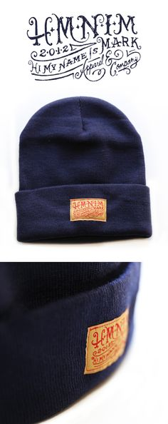 HMNIM beanie by Forefathers
