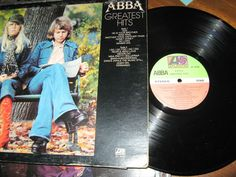 ABBA - Greatest Hits CANADA 1976 Lp near mint