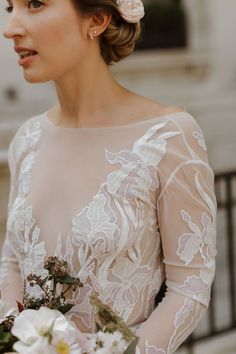 HdeP Bridal bespoke and made to order wedding dresses and wedding outfits for Fay. Bridal couture dresses for weddings with unique embroidery. Sheer Wedding Dress, Bridal Wedding Dresses, Bridesmaid Dresses, Bridal Lingerie, Hermione, Wedding Styles, Dream Wedding, Instagram, Bridesmade Dresses