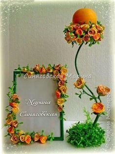 Здравствуйте! Увидела очень много интересных работ, захотелось поделиться и своими достижениями в творчестве!! В основном работаю с тканями, атласными лентами и холодным фарфором! фото 3 Clay Flowers, Ceramic Flowers, Rose Crafts, Diy And Crafts, Quilling Photo Frames, Crepe Paper Flowers Tutorial, Flannel Flower, Paper Quilling Designs, Beautiful Rose Flowers
