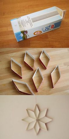 Faster than using toilet paper rolls! Faster than using toilet paper rolls! The post Faster than using toilet paper rolls! appeared first on Paper Diy. Toilet Paper Roll Art, Rolled Paper Art, Toilet Paper Roll Crafts, Diy Paper, Kids Crafts, Diy And Crafts, Craft Projects, Noel Christmas, Christmas Ornaments