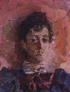Портрет М.В.Якунчиковой. 1886-1889, Врубель Михаил