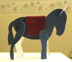 donkey  craft palm sunday