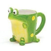 Burton U0026 Burton Green Frog Froggy Coffee Mug Tea Cup Kitchen Home Décor