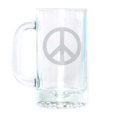 Beer Mug - Peace Sign