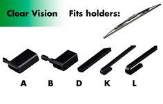 Viskerblad Clear Vision - Viskerblad - Biltema