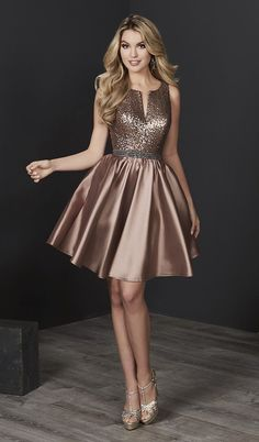 Homecoming 27223 Sequin Top Short Dress Buy Tiffany Homecoming 27223 Sequin Top Short Dress today at authorized retailer store. With every order get your free. Satin Dresses, Sexy Dresses, Beautiful Dresses, Casual Dresses, Short Dresses, Fashion Dresses, Formal Dresses, Elegant Dresses, Wedding Dresses
