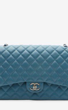 Chanel Teal Shoulder Bag   VAUNTE