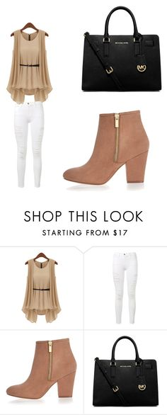 """""""Untitled #1"""" by anggahp on Polyvore featuring Frame Denim, River Island and MICHAEL Michael Kors"""